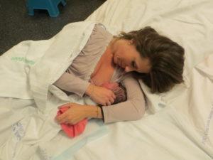 Allattamento subito dopo il parto